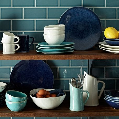 Midnight Blue Glaze Dinnerware