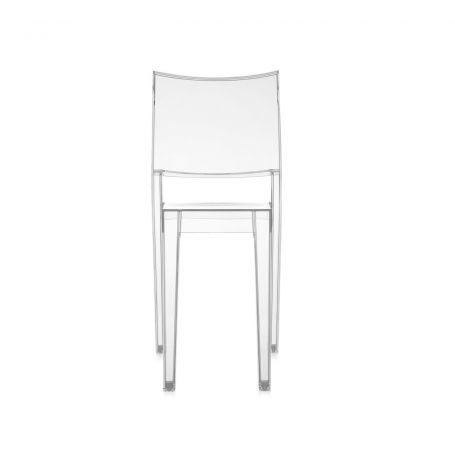 La Marie Chair in Clear - Front View