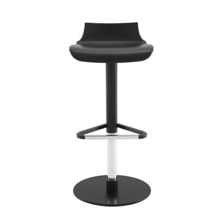 Petrus Barstool in Black - Front View
