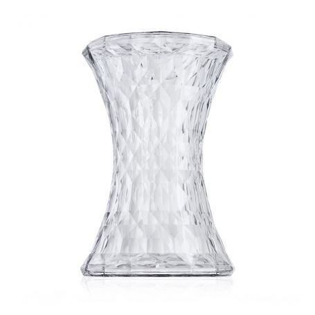Stone Stool in Crystal