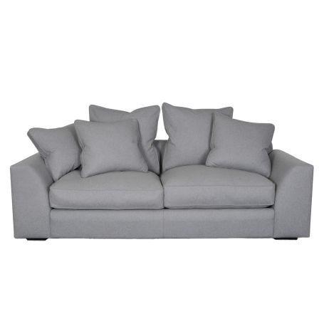 Cumulus 4 Seater Sofa in Wool Felt Wolf