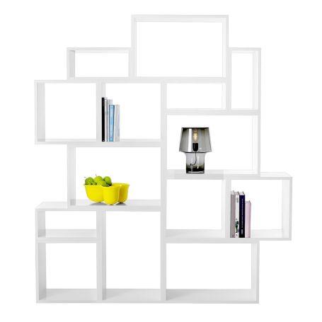 Stacked Storage System White
