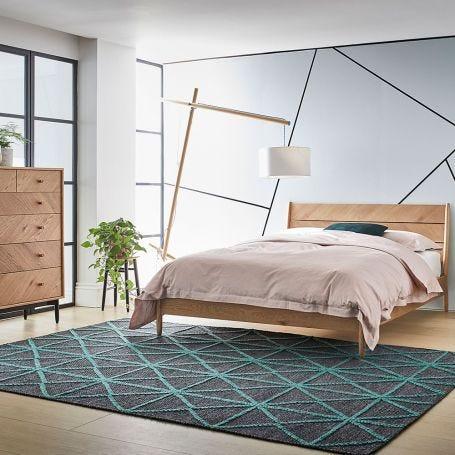 Monza Oak Bed