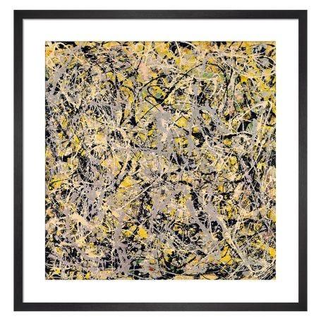 No. 4, 1949 by Jackson Pollock Framed Print