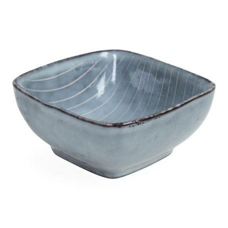 Nordic Sea Square Snack Bowl