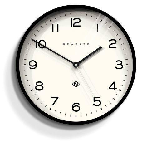 Echo Number Three Wall Clock Black