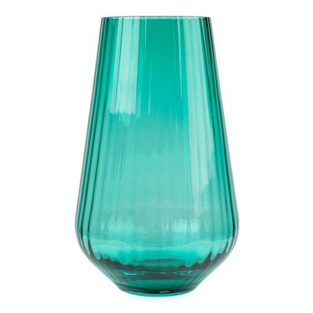 Optic Vase Medium Green