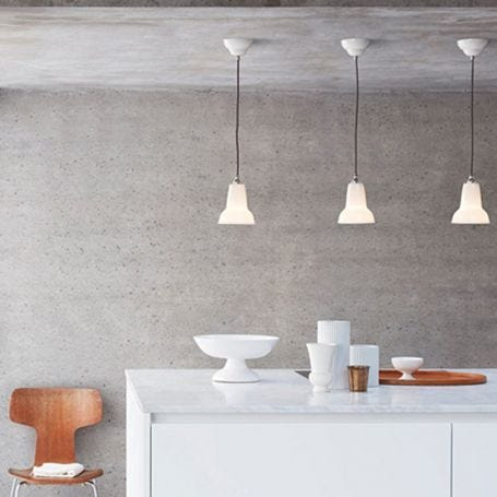 Original 1227 Mini Ceramic Wall Lamp Pure White