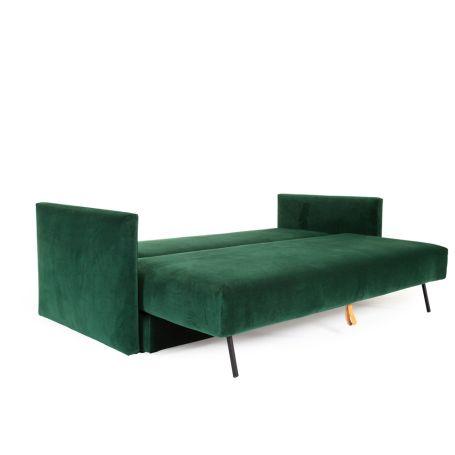 Oswald Sofa Bed Velvet Forest Green