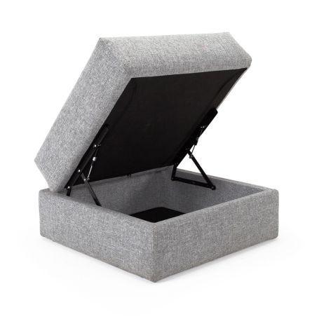 Oswald Storage Footstool Dessin Twist