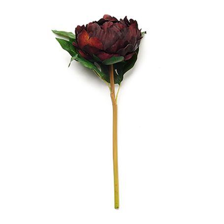 Peony Plum Faux Flower
