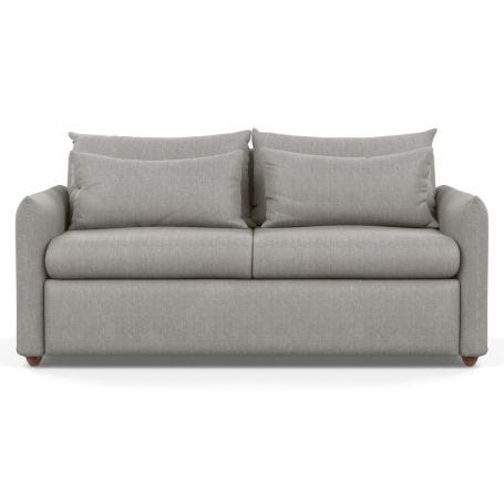 Pillow Sofa Bed Texture Pale Grey Chestnut Stain Feet
