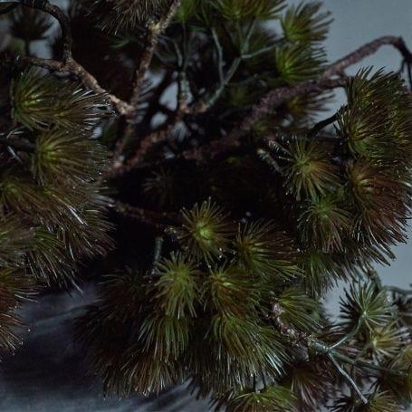 Pine Branch Dusk Faux Stem