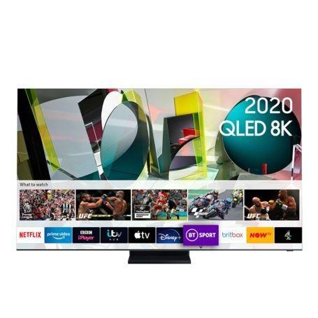 """Samsung 2020 85"""" Q950TS Flagship QLED 8K HDR 4000 Smart TV"""