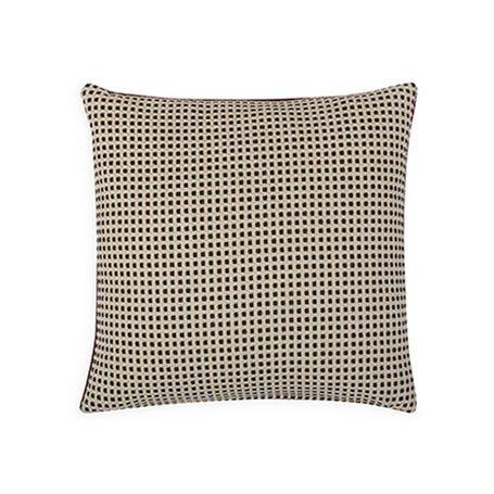 Duo Cushion Mulberry & Ebony 45cm x 45cm