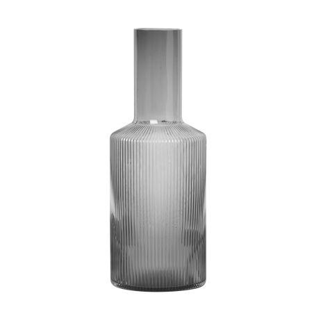 Ripple Smoked Grey Carafe