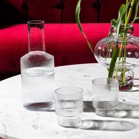 Ripple Glassware Clear
