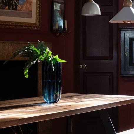 Ripple Vase Midnight Blue Medium