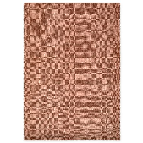 Romilly Recycled Rug Terracotta