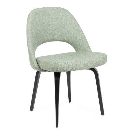 Saarinen Conference Chair Gentil Fabric Ebonised Leg