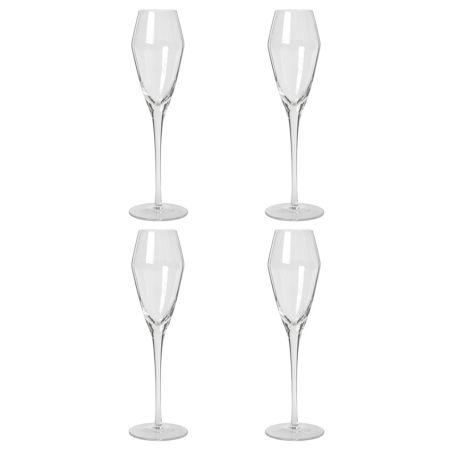 Sandvig Champagne Glass Set of Four