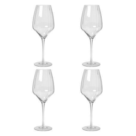 Sandvig White Wine Glass Set of Four