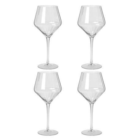 Sandvig Red Wine Glass Set of Four