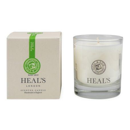 Yuzu & Cypress Scented Glass Candle