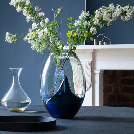 Slick Oval Vase