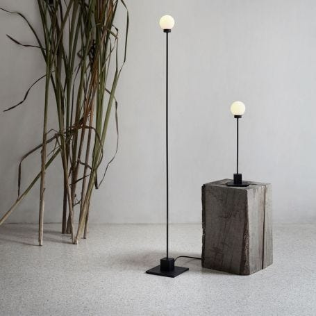 Snowball Floor Lamp