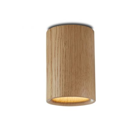 Solid Downlight Cylinder Wood