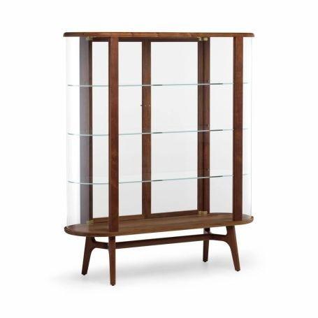 Solo Tall Vitrine Cabinet