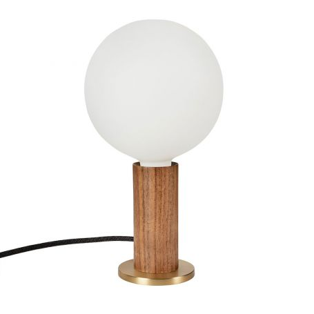 Knuckle Table Lamp with Sphere IV Bulb
