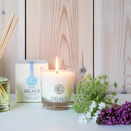 Spring Meadow Scented Glass Candle