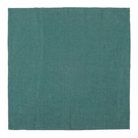 Heal's Linen Napkin Pool Green