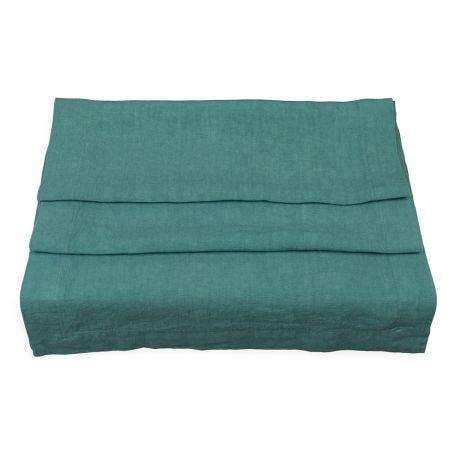 Heal's Linen Runner Pool Green