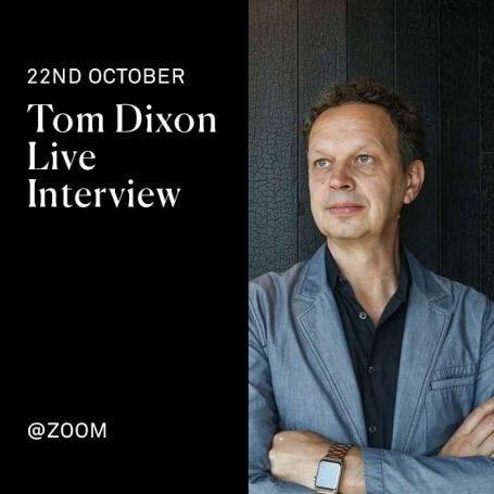 Tom Dixon Live Interview at Heal's