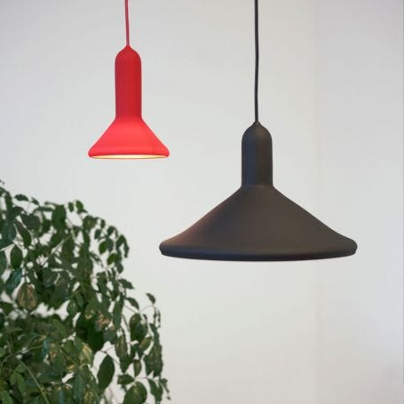 Torch S1 Cone Pendant Light Red