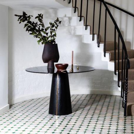 Totem Pedestal Dining Table