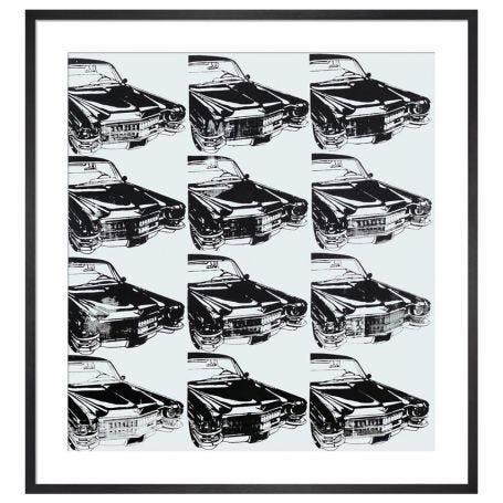 Twelve Cars, 1962 by Andy Warhol Framed Print