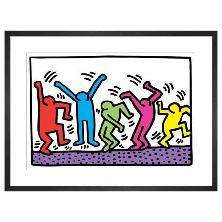 Untitled by Keith Haring Framed Print