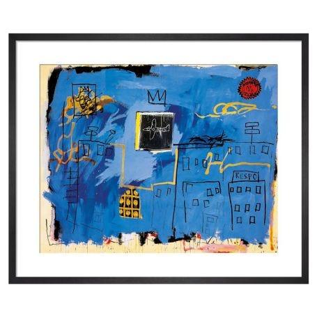 Untitled 1981 by Jean-Michel Basquiat Framed Print