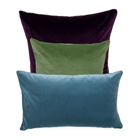 Aubergine, Sage Green, Slate Blue