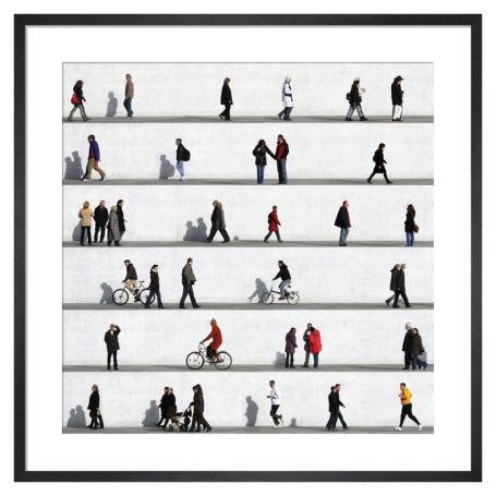 Wall People Detail No.2 by Eka Sharashidze