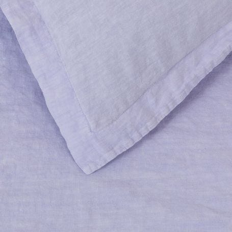 Washed Linen Lilac Bed Linen