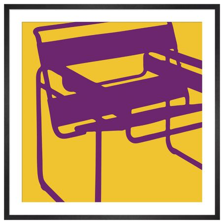 Wassily Chair by Yoni Alter Framed Print
