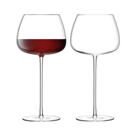 Wine Culture Balloon Glass Set of 2