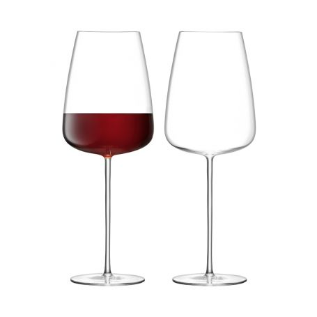 Wine Culture Red Wine Glass Set of 2