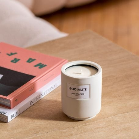 August & Piers Socialite Candle