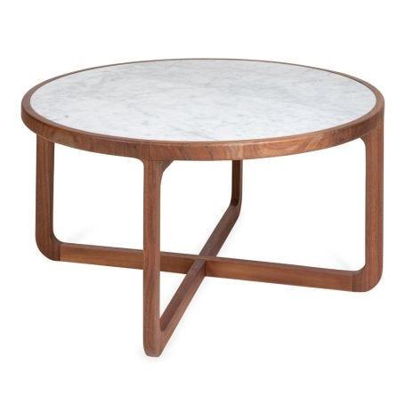 Anais Coffee Table White Marble
